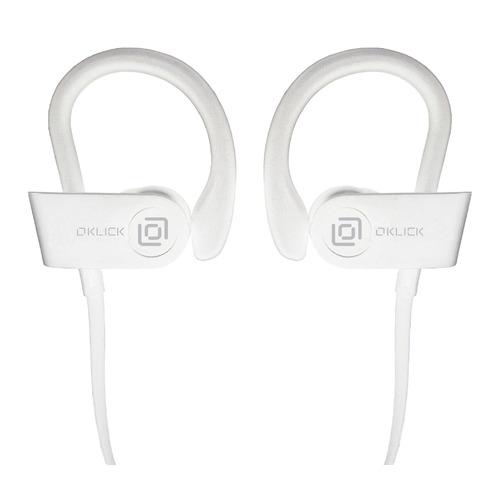Наушники с микрофоном OKLICK BT-S-120, Bluetooth, вкладыши, белый [be216] наушники с микрофоном oklick bt s 120 bluetooth вкладыши черный [be216]