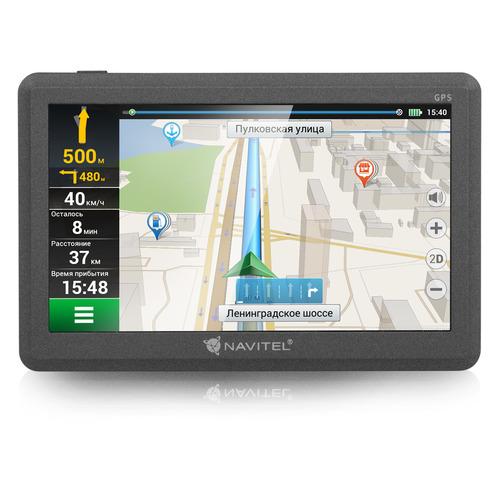 цена на Навигатор NAVITEL C500, 5, авто, 4Гб, Navitel, черный
