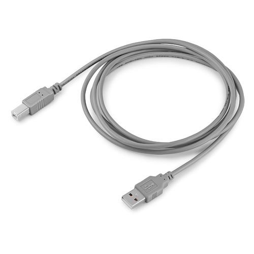 Фото - Кабель USB2.0 BURO USB A(m) - USB B(m), 1.8м, блистер, серый [bhp ret usb_bm18] кабель usb2 0 buro usb a m usb b m 3м блистер серый [bhp ret usb bm30]