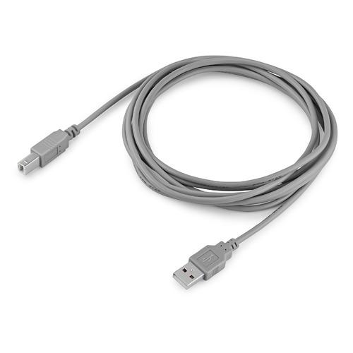 Фото - Кабель USB2.0 BURO USB A(m) - USB B(m), 3м, блистер, серый [bhp ret usb_bm30] кабель usb2 0 buro usb a m usb b m 3м блистер серый [bhp ret usb bm30]
