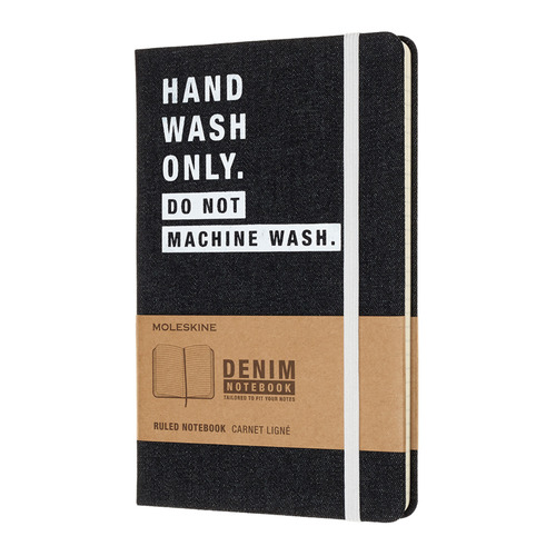 Блокнот Moleskine LE DENIM NOTEBOOKS Large 130х210мм 240стр. линейка HAND WASH blazer moe пиджаки под джинсы