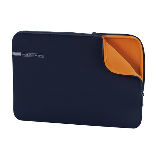 Чехол для ноутбука 15.6 HAMA Neoprene, синий [00101554] чехол для ноутбука 13 3 hama neoprene серый красный [00101549]