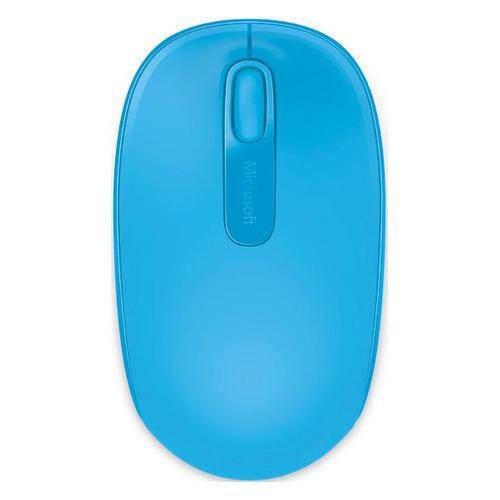 Мышь MICROSOFT Mobile Mouse 1850, оптическая, беспроводная, USB, бирюзовый [u7z-00058] все цены