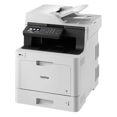 Фото - МФУ лазерный BROTHER MFC-L8690CDW, A4, цветной, лазерный, серый [mfcl8690cdwr1] мфу лазерный pantum m6700d a4 лазерный серый