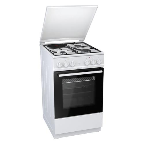 Газовая плита GORENJE KN5121WD, электрическая духовка, белый газовая плита gorenje gi5121wh газовая духовка белый
