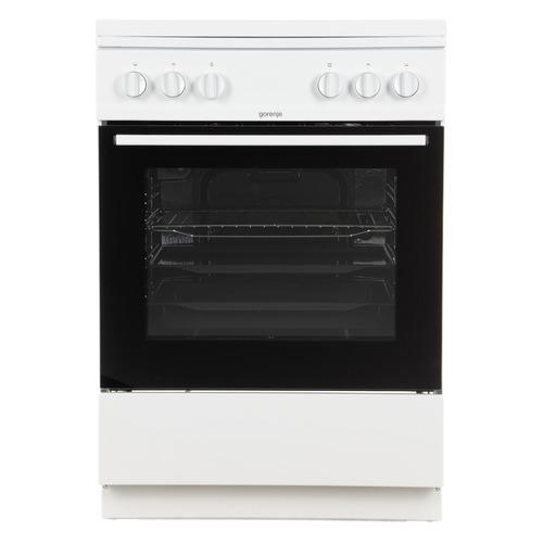 Газовая плита GORENJE G6111WH, газовая духовка, белый газовая плита gorenje gi5121wh газовая духовка белый