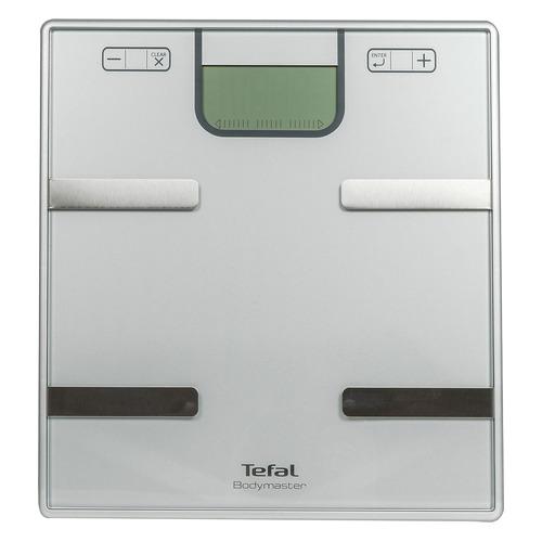 лучшая цена Напольные весы TEFAL BM6010V0, до 160кг, цвет: серебристый [2100099842]