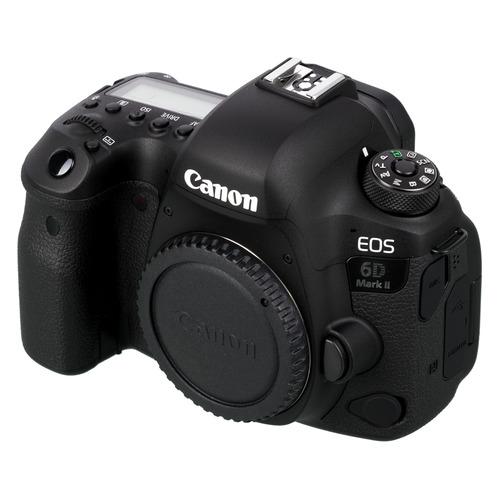 Зеркальный фотоаппарат CANON EOS 6D Mark II body, черный цена 2017