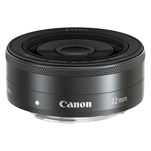 Фото - Объектив CANON 22mm f/2 EF-M STM, Canon EF-M, черный [5985b005] шариковая ручка поворотная parker sonnet k536 черный m