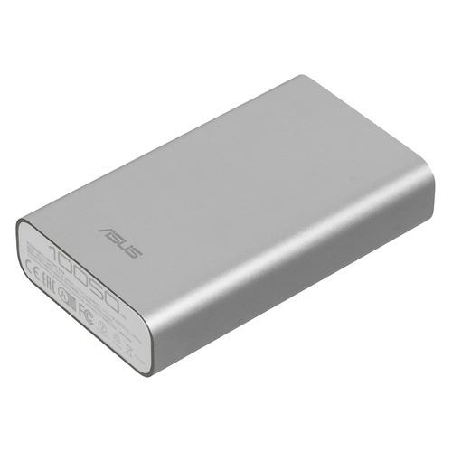 Внешний аккумулятор (Power Bank) ASUS ZenPower ABTU005, 10050мAч, серебристый [90ac00p0-bbt077/027] стоимость
