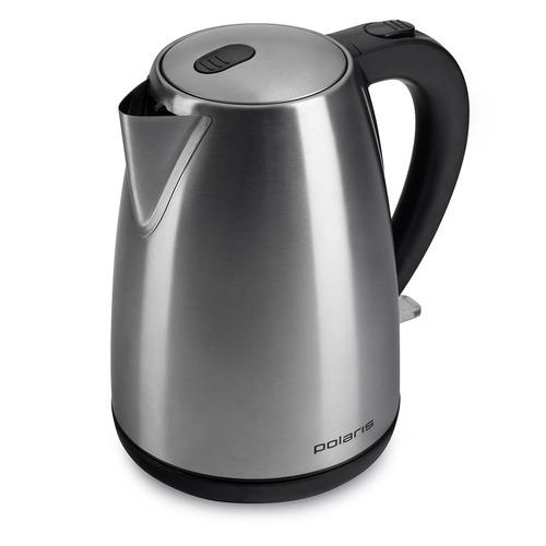 Чайник электрический POLARIS PWK 1707CA, 2200Вт, серебристый матовый цена и фото