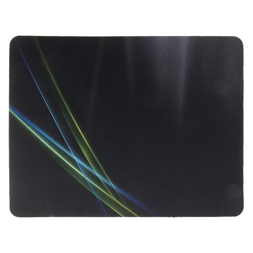 лучшая цена Коврик для мыши OKLICK OK-F0250, рисунок/линии неоновые