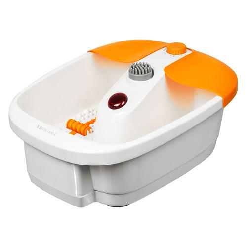 Гидромассажная ванночка для ног MEDISANA FS 883, серый, белый
