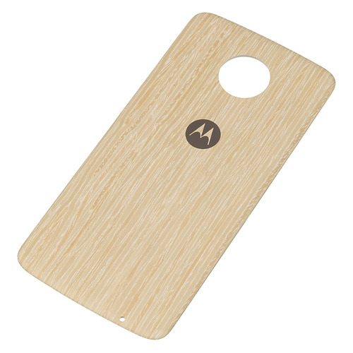 Чехол (клип-кейс) MOTOROLA Style CAP, для Moto Z/Z Play, коричневый [asmcapwdokeu] armour series rotating bracket case for moto z play gold