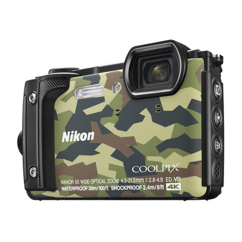 Цифровой фотоаппарат NIKON CoolPix W300, камуфляж ru warehouse soocoo s100 4k sport sports camera 4k wifi built in gyro with gps extension gps model not include action cam