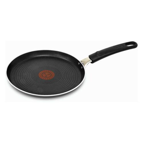 Сковорода блинная TEFAL Extra 04165522, 22см, без крышки, черный [9100023393]
