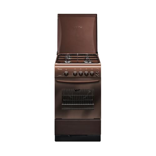 Газовая плита GEFEST ПГ 3200-06 К43, газовая духовка, коричневый газовая плита gefest пг 3200 08 газовая духовка белый
