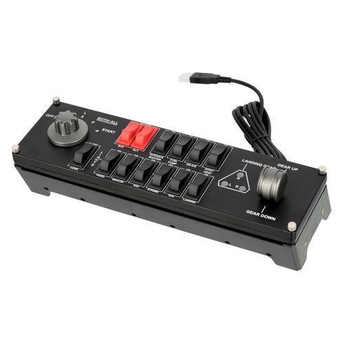 Геймпад проводной LOGITECH G Saitek Pro Flight Switch Panel черный [945-000012]