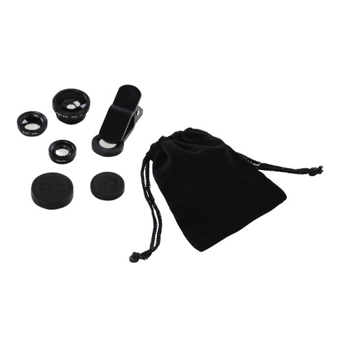 Фото - Комлект объективов HAMA Uni, для планшетов и смартфонов, черный [00044338] объектив и космос