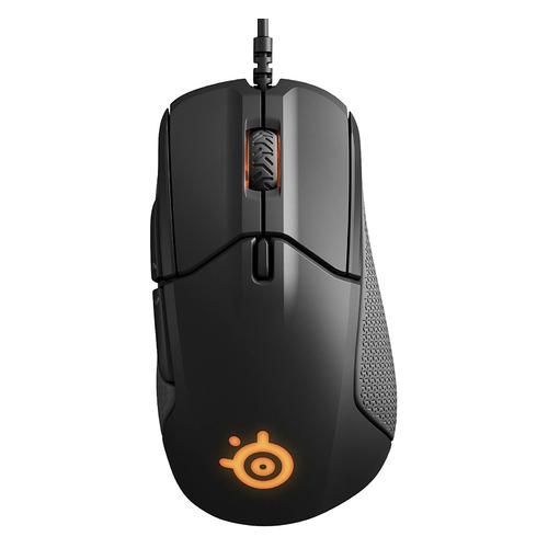 цена на Мышь STEELSERIES Rival 310, игровая, оптическая, проводная, USB, черный [62433]