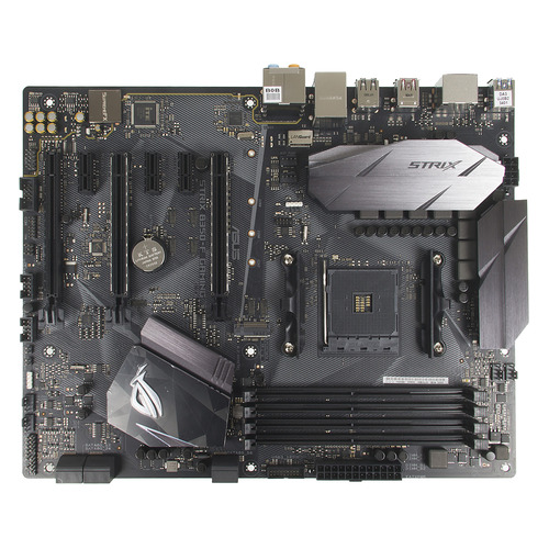 Материнская плата ASUS ROG STRIX B350-F GAMING, SocketAM4, AMD B350, ATX, Ret