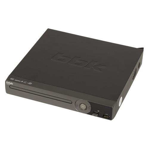 Фото - DVD-плеер BBK DVP034S, темно-серый микрофон bbk cm124 темно серый