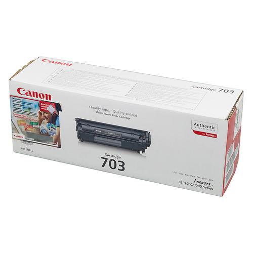 Картридж CANON 703, черный [7616a005] картридж canon 703 7616a005 для canon lbp 2900 3000 черный