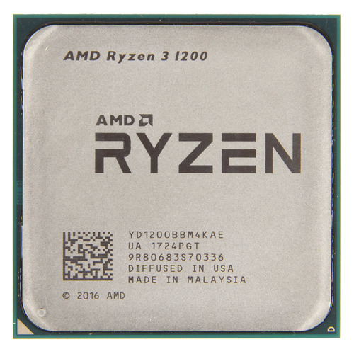 Процессор AMD Ryzen 3 1200, SocketAM4, OEM [yd1200bbm4kae] процессор amd a6 9400 socketam4 oem [ad9400agm23ab]