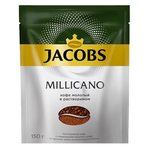 цена Кофе растворимый JACOBS MONARCH Millicano, 150грамм [8050064] онлайн в 2017 году