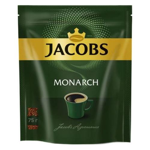 цена Кофе растворимый JACOBS MONARCH 75грамм [4251675] онлайн в 2017 году