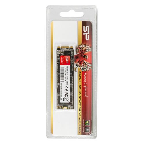 SSD накопитель SILICON POWER M-Series SP120GBSS3M55M28 120Гб, M.2 2280, SATA III цена