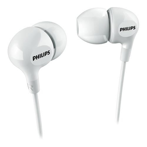 Наушники PHILIPS SHE3550, 3.5 мм, вкладыши, белый [she3550wt/00] наушники philips she3590rd 10 вкладыши красный проводные