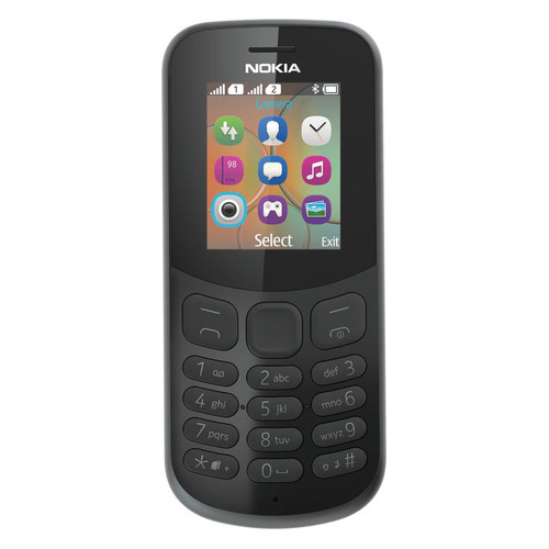 цена на Мобильный телефон NOKIA 130 2017 Dual Sim, черный