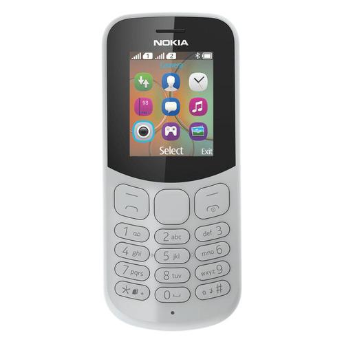 цена на Мобильный телефон NOKIA 130 2017 Dual sim, серый