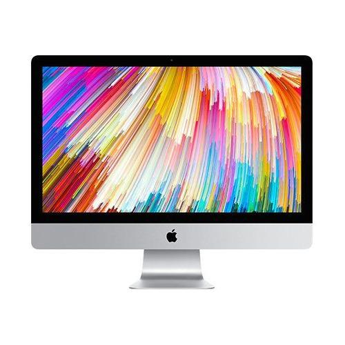 """Моноблок APPLE iMac MNEA2RU/A, 27"""", Intel Core i5 7600, 8Гб, 1000Гб, AMD Radeon Pro 575 - 4096 Мб, Mac OS, серебристый и черный apple imac retina mk482ru a i5 6600 3 3ghz 8g 2tb fusion drive amd r9 m395 2gb bt wf 27 5k"""