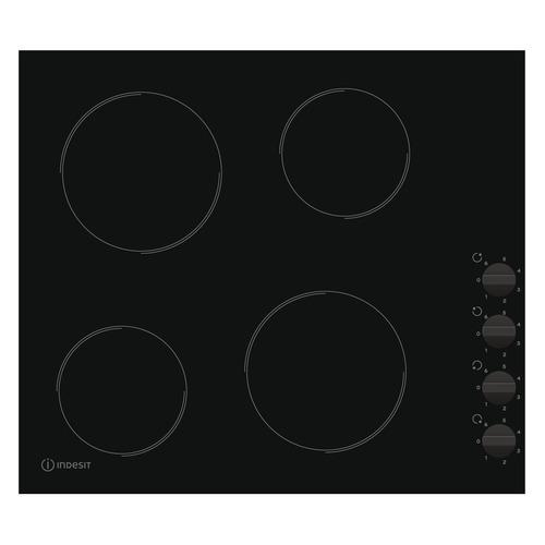 Варочная панель INDESIT RI 860 C, электрическая, независимая, черный