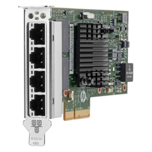 Адаптер HPE 811546-B21 Ethernet 1Gb 4-port 366T адаптер питания hpe jx990a 12v 30w