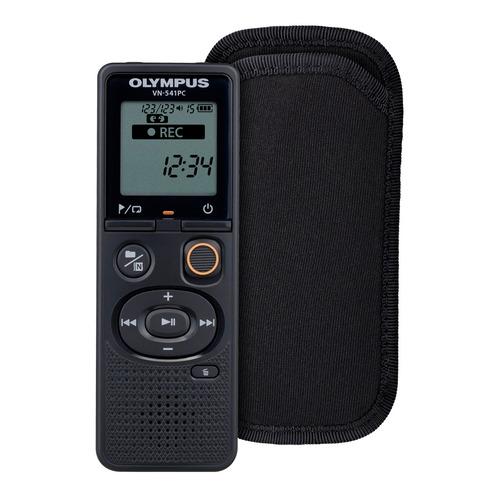 Диктофон OLYMPUS VN-541PC + CS131 soft case 4 Gb, черный цена