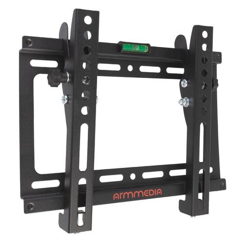 Кронштейн для телевизора ARM MEDIA STEEL-6, 15-47, настенный, наклон кронштейн kromax vega 3 black для led lcd tv 15 32 max 20 кг настенный 0 ст свободы от стены 15 мм max vesa 100x100 мм