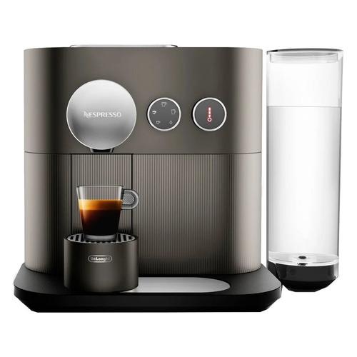 Капсульная кофеварка DELONGHI Nespresso Expert EN350.G, 1400Вт, цвет: темно-серый [0132191449], EN350.G