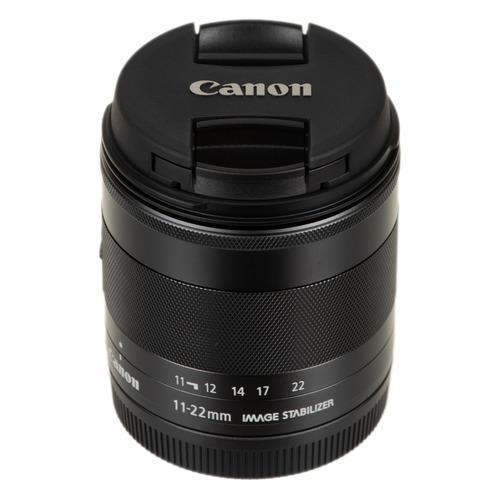 Фото - Объектив CANON 11-22mm f/4-5.6 EF-M IS STM, Canon EF-M, черный [7568b005] объектив canon ef 28 300mm f