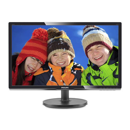 Монитор PHILIPS 206V6QSB6 (10/62) 19.5, черный монитор philips 206v6qsb6 black