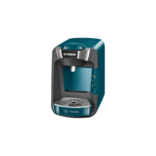 Капсульная кофеварка BOSCH TAS3205, 1300Вт, цвет: бирюзовый капсульная кофеварка bosch tassimo tas1252 1300вт цвет черный [4251542]