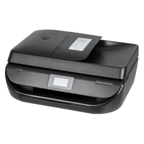 МФУ струйный HP Deskjet Ink Advantage 5275 AiO, A4, цветной, струйный, черный [m2u76c] картридж струйный hp c9391ae n 88xl cyan with vivera ink