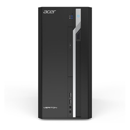 Компьютер ACER Veriton ES2710G, Intel Core i3 7100, DDR4 4Гб, 1000Гб, Intel HD Graphics 630, Windows 10 Professional, черный [dt.vqeer.028] компьютер acer veriton es2710g intel core i3 7100 ddr4 4гб 128гб ssd intel hd graphics 630 windows 10 professional черный [dt vqeer 029]