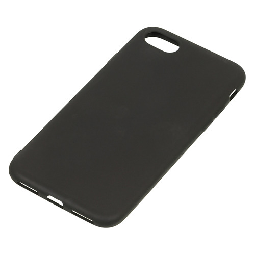 Чехол (клип-кейс) DF iColorCase-01 (black), для Apple iPhone 7, черный