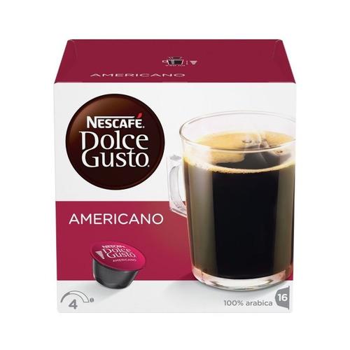 Кофе капсульный DOLCE GUSTO Americano, капсулы, совместимые с кофемашинами DOLCE GUSTO® [12378322|12115461] цена