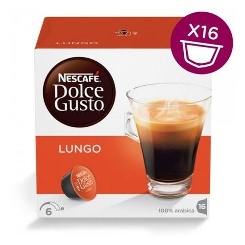 купить Кофе капсульный DOLCE GUSTO CaffeLungo, капсулы, совместимые с кофемашинами DOLCE GUSTO® [5219842] онлайн