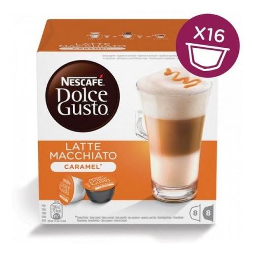 Кофе капсульный DOLCE GUSTO Latte Macchiato Caramel, капсулы, совместимые с кофемашинами DOLCE GUSTO®, 168.8грамм [12136960] цена