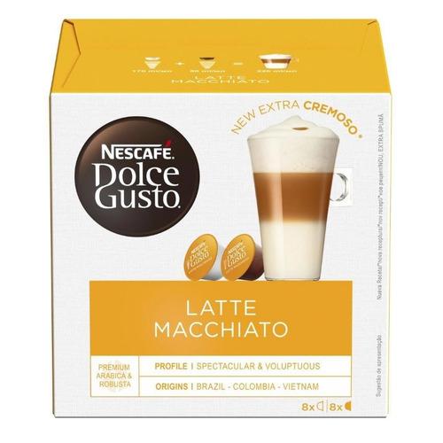 Кофе капсульный DOLCE GUSTO Latte Macchiato, капсулы, совместимые с кофемашинами DOLCE GUSTO®, 194.4грамм [12378380|5219838] цена